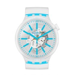 Montre Unisexe Swatch Big Bold Neon SO27E105 - BLUEINJELLY