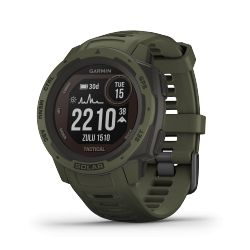 Montre Garmin Instinct Solar – Tactical Edition Vert Mousse 010-02293-04