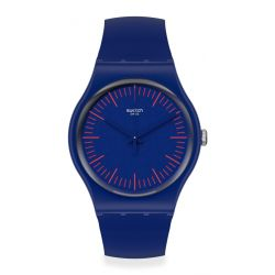 Montre Homme Swatch New Gent SUON146 - BLUENRED
