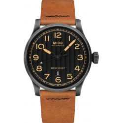 Montre Homme Mido Multifort Escape Horween Special Edition M0326073605099