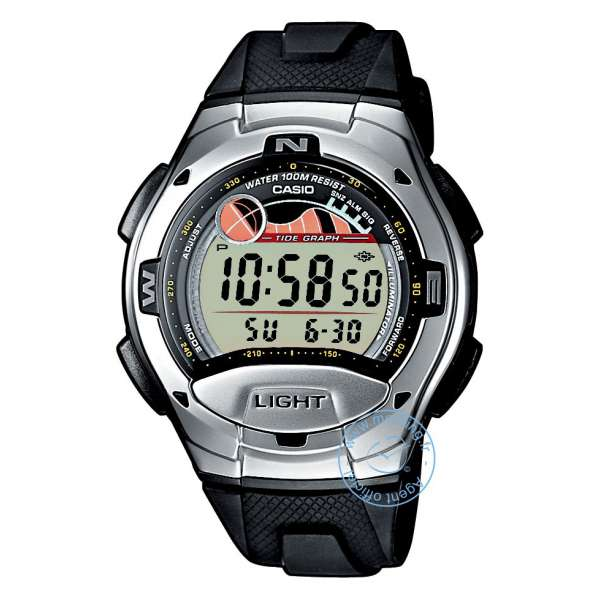 Montre Homme Casio W-753-1AVES