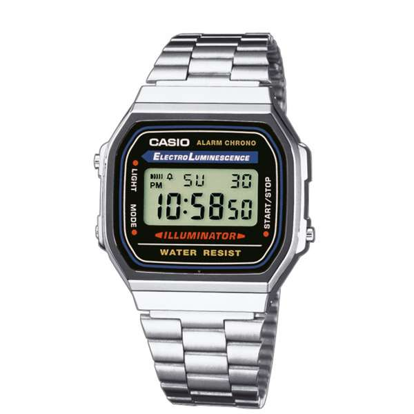 Montre Mixte Casio Vintage  A168WA-1YES