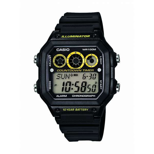 Montre Homme Casio Collection AE-1300WH-1AVEF