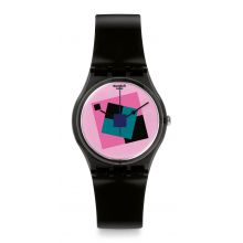 Montre Mixte Swatch GA109 - CRAZY SQUARE