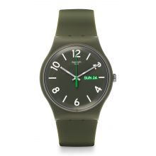 Montre Mixte Swatch SUOG706 - BACKUP GREEN