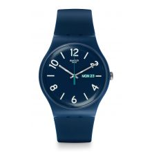 Montre Mixte Swatch SUON705 - BACKUP BLUE