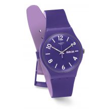 Montre Femme Swatch SUOV703 - BACKUP PURPLE