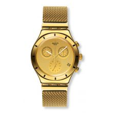 Montre Mixte Swatch YCG410GB - GOLDEN COVER S