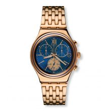 Montre Mixte Swatch YCG409G - BLUE WIN