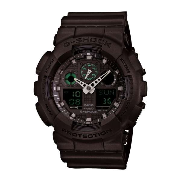 Montre Homme Casio G-Shock GA-100MB-1AER