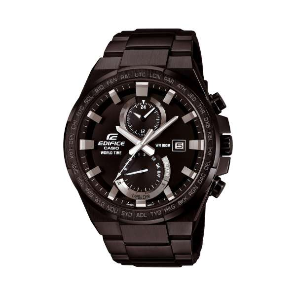 montre casio edifice efr 542bk 1avuef pour homme. Black Bedroom Furniture Sets. Home Design Ideas