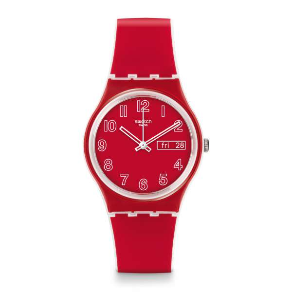 Montre Mixte Swatch GW705 - POPPY FIELD