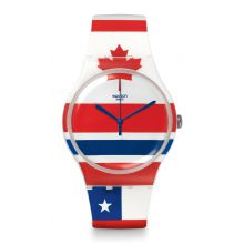 Montre Homme Swatch SUOW111 - FLAGTIME