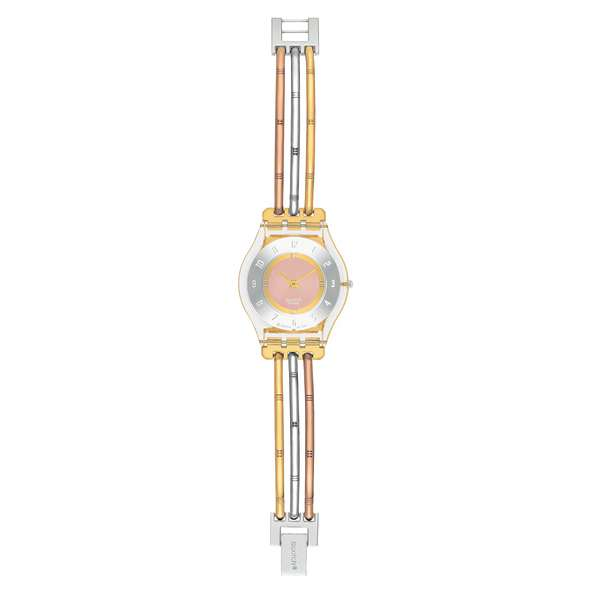 Montre Femme Swatch SFK240A - TRI GOLD LARGE
