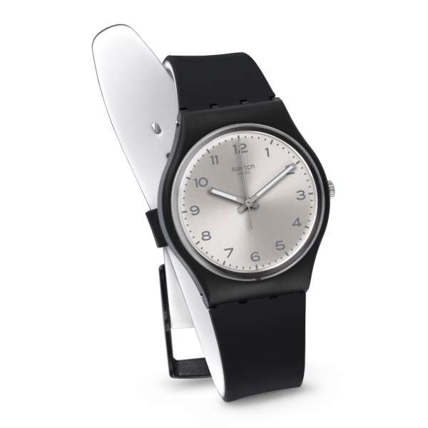 Montre Homme Swatch GB287 - SILVER FRIEND TOO