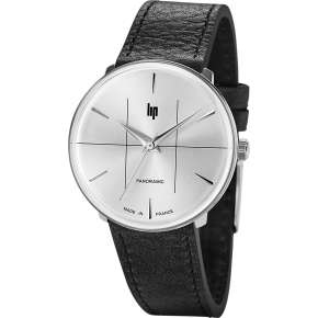 Montre Mixte Lip PANORAMIC 34 CLASSIC CHROME 1960 - 671061