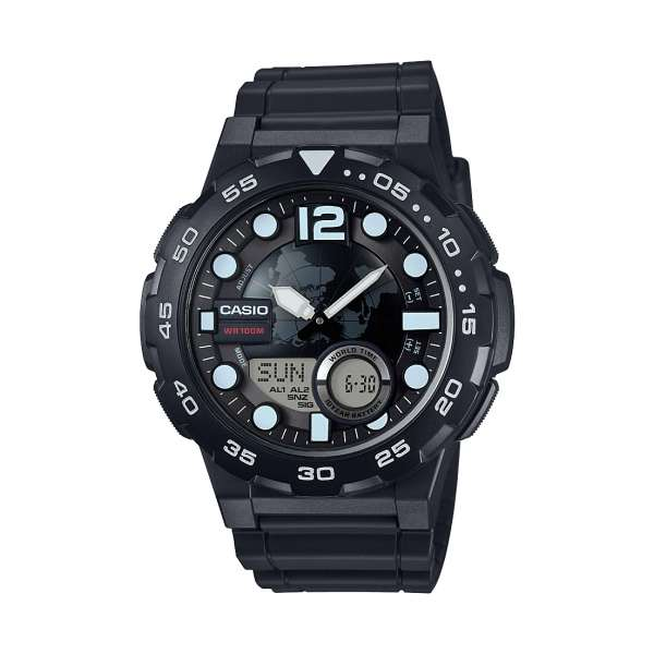 Montre Homme Casio Collection AEQ-100W-1AVEF