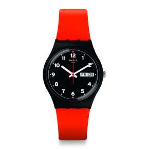 Montre Femme et Homme Swatch GB754 - RED GRIN