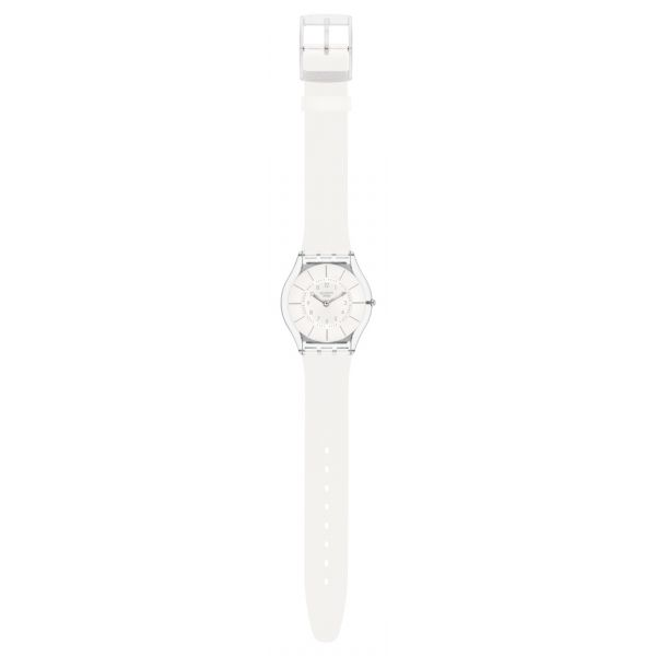 Montre Femme Swatch SFK360 - WHITE CLASSINESS