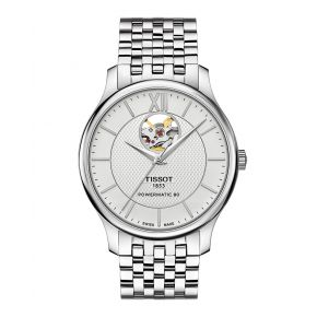Montre Homme Tissot Tradition Automatic Open Heart T0639071103800