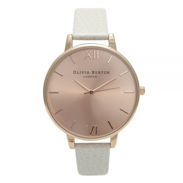 Montre Femme Olivia Burton Big Dial Mink and Rose Gold OB13BD11