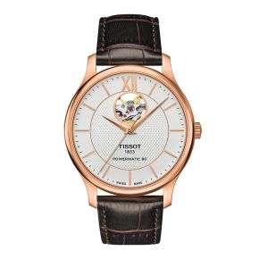 Montre Homme Tissot Tradition Automatic Open Heart T0639073603800