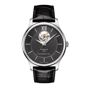 Montre Homme Tissot Tradition Automatic Open Heart T0639071605800