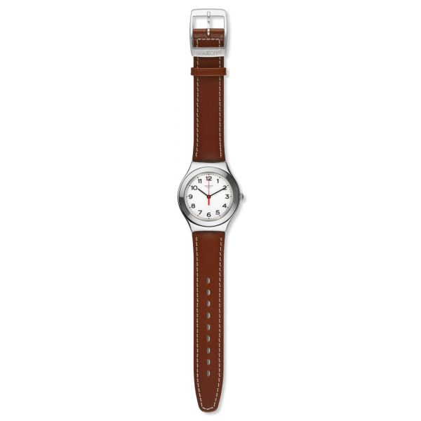 Montre Swatch Irony Big pour Homme YGS131 - STRICTLY SILVER