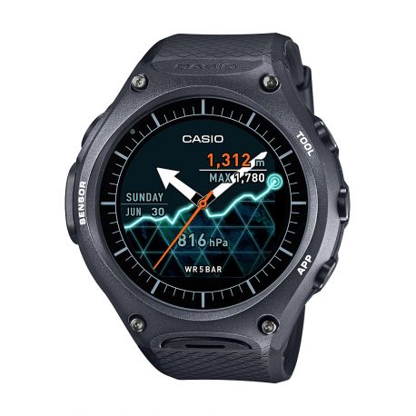 Smartwatch Casio - Androidwear WSD-F10BKAAE