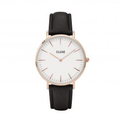 Montre Femme Cluse La Bohème Rose Gold White/Black 38mm CW0101201020