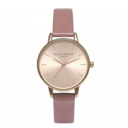 Montre Femme Olivia Burton Midi Dial Rose and Rose Gold OB15MD40