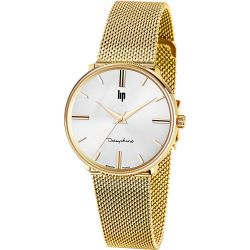 Montre Femme Lip DAUPHINE 34 GOLD MILANESE 1960 - 671296