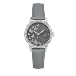 Montre Femme GO Girl Only papillons gris 698604