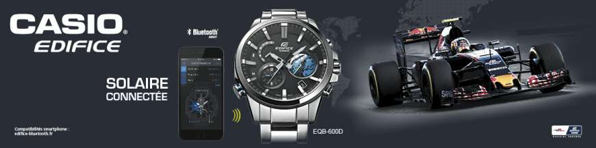 Montres Casio Bluetooth